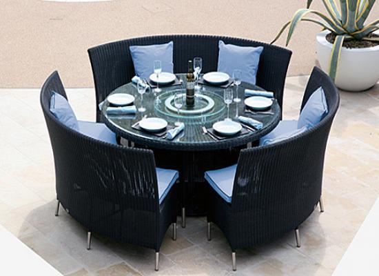 Alcanes Dining 290 Globe Black